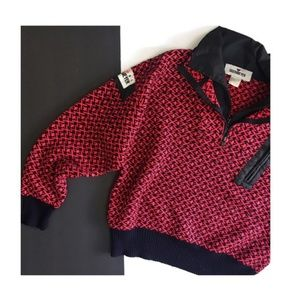 obermeyer sport • vintage quarter zip sweater